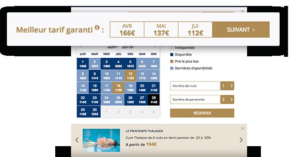 Mmcr ation solutions web pour l 39 h tellerie for Meilleur site pour reservation hotel
